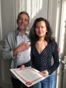 Père et fille (Cléva Cazaumayou)